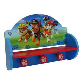 Mensola Attaccapanni Paw Patrol