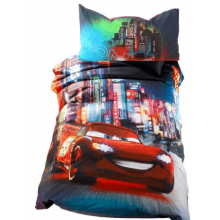 Parure Copripiumino Disney Cars by Caleffi Neon City
